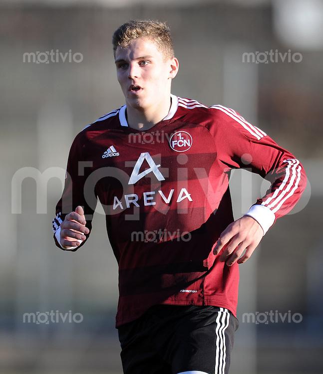 FUSSBALL  U19 A Junioren Bundesliga   SAISON  2011/2012    11. Spieltag   27.11.2011 TSV 1860 Muenchen - 1. FC Nuernberg  Tobias Pachonik (1. FC Nuernberg)