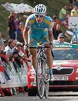 Kevin Seeldrayers during the stage of La Vuelta 2012 between La Robla and Lagos de Covadonga.September 2,2012. (ALTERPHOTOS/Acero) /NortePhoto.com<br /> <br /> **CREDITO*OBLIGATORIO** <br /> *No*Venta*A*Terceros*<br /> *No*Sale*So*third*<br /> *** No*Se*Permite*Hacer*Archivo**<br /> *No*Sale*So*third*