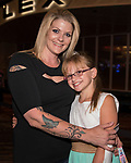 Amanda and 10-year old Kailee during the Idina Menzel Concert at the Grand Sierra Resort in Reno, Nevada on Friday, August 25, 2017.