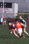 Action from the Louth V London match.Pic Fran Caffrey