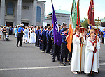 St. Oliver Plunkett Relic Procession 2011 at Lourdes Church..Picture: Shane Maguire / www.newsfile.ie.