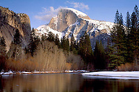Yosemite early snowfall