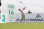 Rory McElroy teeing off on the 16th hole during day two of the 3 Irish Open..Pic Fran Caffrey/golffile.ie