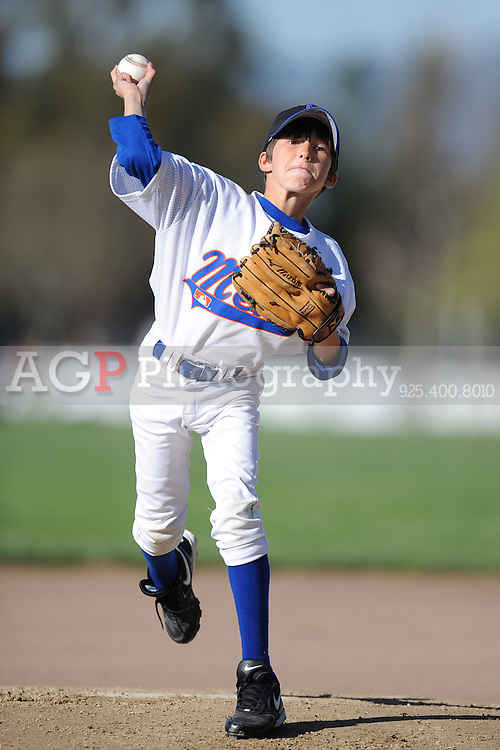 The AA Mets of Pleasanton National Little League  March 21, 2009.