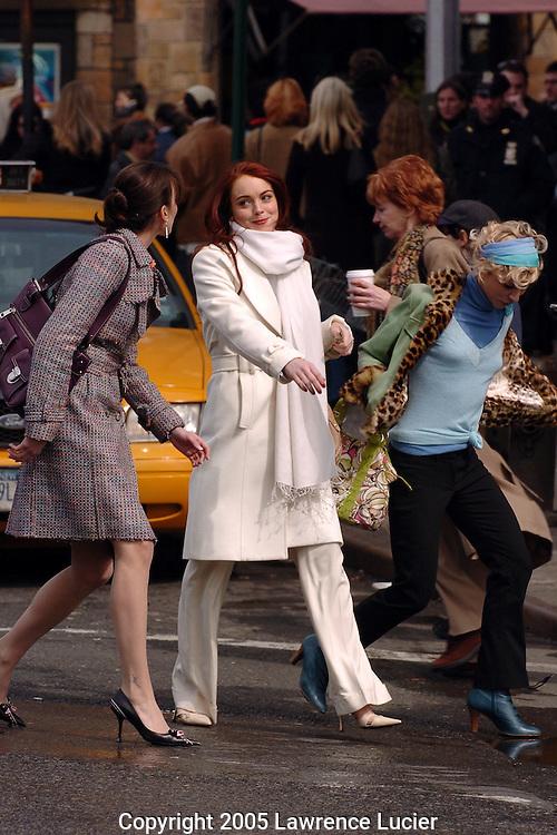 Bree Turner, Lindsay Lohan, and Samaire Armstrong