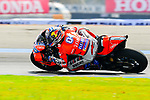 Ducati Team's rider Andrea Dovizioso of Italy rides during the MotoGP Official Test at Chang International Circuit on 17 February 2018, in Buriram, Thailand. Photo by Kaikungwon Duanjumroon / Power Sport Images
