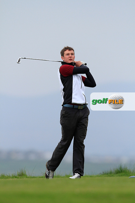 John Ross Galbraith (Whitehead) during round 2 of The West of Ireland Amateur Open in Co. Sligo Golf Club on Saturday 19th April 2014.<br /> Picture:  Thos Caffrey / www.golffile.ie
