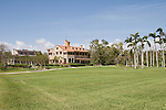 The Deering main residence sits on an expansive lawn overlooking Biscayne Bay.