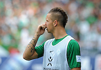 FUSSBALL   1. BUNDESLIGA   SAISON 2011/2012    1. SPIELTAG SV Werder Bremen - 1. FC Kaiserslautern             06.08.2011 Marko ARNAUTOVIC (SV Werder Bremen)