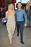 Sarah Hadland and Russell Tovey at the Royal Academy of Arts Summer Exhibition 2018 VIP preview party, Royal Academy of Arts, Burlington House, Piccadilly, London, England, UK, on Wednesday 06 June 2018.<br /> CAP/CAN<br /> &copy;CAN/Capital Pictures