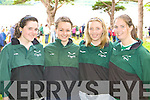 St Brendan's RC rowers at the Killarney Regatta on Sunday l-r: Sinead Kelly, Kathlynn Kelly, Claire O'Donoghue and Ciara Brosnan  .