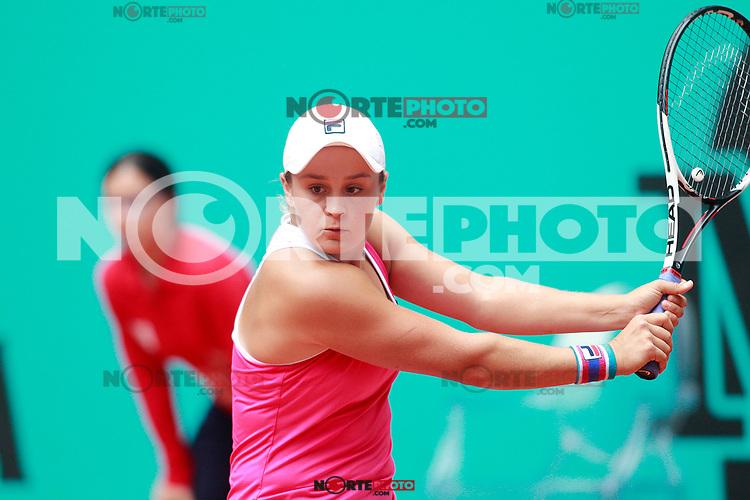 Ashleigh Barty, Australia, during Madrid Open Tennis 2018 match. May 7, 2018.(ALTERPHOTOS/Acero) /NortePhoto.com