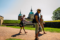 Scenes around Kalmar Slott (Kalmar Castle)