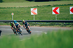 Action from La Fl&egrave;che Wallonne Femmes 2019, running 118.5km from Huy to Huy, Belgium. 24th April 2019<br /> Picture: ASO/Thomas Maheux | Cyclefile<br /> All photos usage must carry mandatory copyright credit (&copy; Cyclefile | ASO/Thomas Maheux)