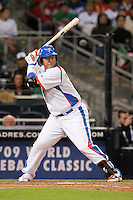 15 March 2009: #10 Dae Ho Lee of Korea is seen at bat during the 2009 World Baseball Classic Pool 1 game 2 at Petco Park in San Diego, California, USA. Korea wins 8-2 over Mexico.