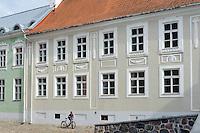 Haus bei Johanniskirche in Tartu, Estland, Europa