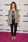 WEST HOLLYWOOD, CA - OCTOBER 12: Actress Ashley Tisdale arrives at Cosmopolitan Magazine's 50th Birthday Celebration at Ysabel on October 12, 2015 in West Hollywood, California.