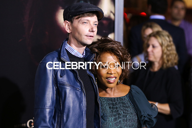 HOLLYWOOD, LOS ANGELES, CA, USA - SEPTEMBER 29: DJ Qualls, Alfre Woodard arrive at the Los Angeles Premiere Of New Line Cinema's 'Annabelle' held at the TCL Chinese Theatre on September 29, 2014 in Hollywood, Los Angeles, California, United States. (Photo by Xavier Collin/Celebrity Monitor)
