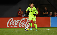 Cincinnati, OH - Tuesday September 19, 2017: Alyssa Naeher during an International friendly match between the women's National teams of the United States (USA) and New Zealand (NZL) at Nippert Stadium.