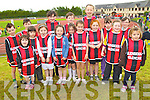 Pictured at the Kerry Community Games finals at Castleisland on Saturday were the Glenbeigh Glencar team from left: Eunan Murphy, Roisin King, Ethan Garcia, Lucy McMahon, Katie O'Connor, Amy Morris, Leahy Morris, Aoife Page, Patrick Griffin, Fiona Rirdan, Juilette Sheahan, Tony Garcia, Danielle Griffin, Roisin Smith, Aisling Murphy and Aela Murphy. .