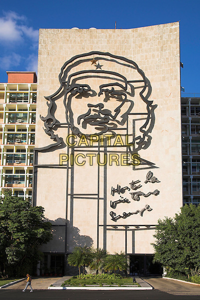 Ministry of the Interior, Plaza de la Revolucion, Revolution Square, Havana, Cuba