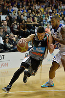 Jarrod Kenny in action during the NBL Final - Hawks v Saints at TSB Bank Arena, Wellington, New Zealand on Saturday 5 July 2014. <br /> Photo by Masanori Udagawa. <br /> www.photowellington.photoshelter.com.