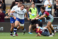 Chris Cook of Bath Rugby. Premiership Rugby 7s (Day 2) on July 28, 2018 at Franklin's Gardens in Northampton, England. Photo by: Patrick Khachfe / Onside Images