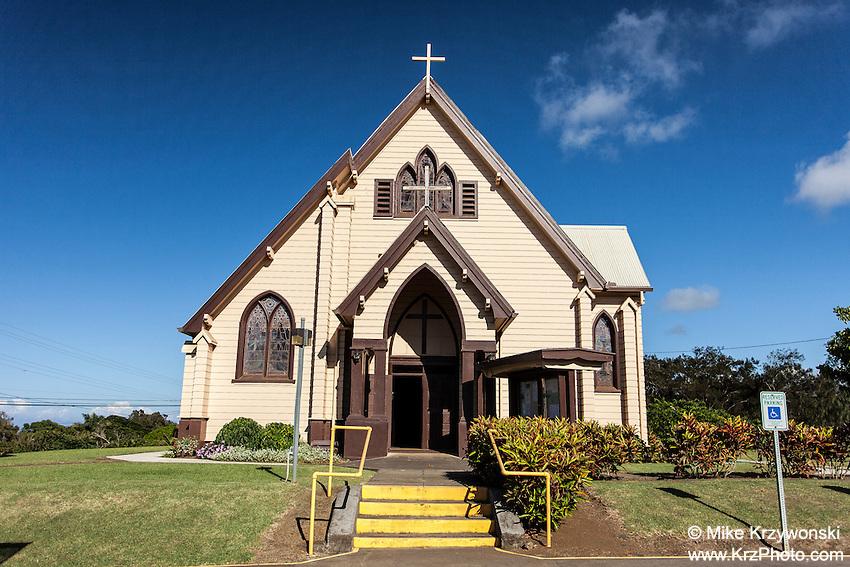 Sacred Heart Church, Hawi, Big Island, Hawaii