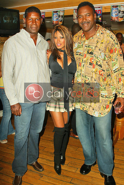 Dennis Haysbert, Traci Bingham and Jamie Williams