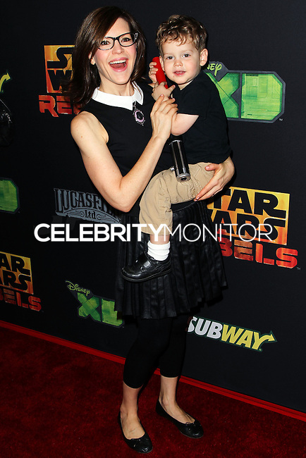 """CENTURY CITY, CA, USA - SEPTEMBER 27: Lisa Loeb arrives at the Los Angeles Screening Of Disney XD's """"Star Wars Rebels: Spark Of Rebellion"""" held at the AMC Century City 15 Theatre on September 27, 2014 in Century City, California, United States. (Photo by Celebrity Monitor)"""