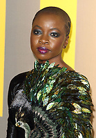 Danai Gurira at the Black Panther European Premiere at the Eventim Apollo, Hammersmith, London on Thursday 8th February 2018<br /> CAP/ROS<br /> CAP/ROS<br /> &copy;ROS/Capital Pictures