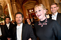 www.acepixs.com<br /> <br /> February 8 2018, Vienna<br /> <br /> Actress Melanie Griffith attending the Vienna Opera Ball on February 8 2018 in Vienna, Austria<br />  <br /> By Line: Famous/ACE Pictures<br /> <br /> <br /> ACE Pictures Inc<br /> Tel: 6467670430<br /> Email: info@acepixs.com<br /> www.acepixs.com