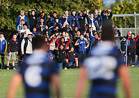 Action from the third round of the 2019 UC Championship rugby series between St Thomas and CBHS at St Thomas College in Christchurch, New Zealand on Saturday, 18 May 2019. Photo: Martin Hunter / lintottphoto.co.nz