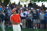 Jason Day (AUS) on the 17th tee during the 2nd round at the PGA Championship 2019, Beth Page Black, New York, USA. 17/05/2019.<br /> Picture Fran Caffrey / Golffile.ie<br /> <br /> All photo usage must carry mandatory copyright credit (&copy; Golffile | Fran Caffrey)