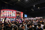 Visitors gather during the first day of the Japan Adult Expo 2015 on November 17, 2015, Tokyo, Japan. 69 film production companies, novelty goods makers and over a hundred AV actresses will attend the second annual two day expo in Toyosu Pit from November 17 to 18. Organizers aim to give fans the opportunity to meet their idols. (Photo by Rodrigo Reyes Marin/AFLO)