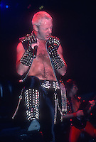 Judas Priest ; Live Madison Square Garden, New York ; 6/18/1984<br /> Photo Credit: Eddie Malluk