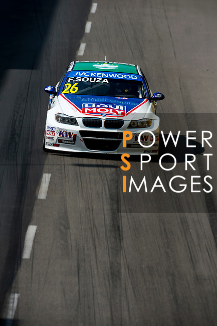 Filipe C. De Souza races the FIA WTCC during the 61st Macau Grand Prix on November 16, 2014 at Macau street circuit in Macau, China. Photo by Aitor Alcalde / Power Sport Images