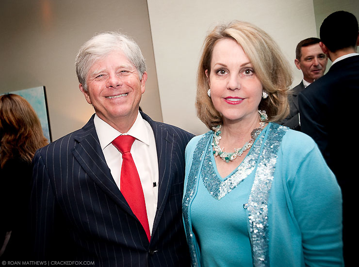 Houston Area Women's Center 2011 Gala Chairs  Jim Derrick and Carrin Patman.