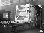 John F Casey Co fabricating a Swindell Dressler Furnace - 1936. Swindell Dressler International Company was based in Pittsburgh, Pennsylvania. The company was founded by Phillip Dressler in 1915 as American Dressler Tunnel Kilns, Inc.  In 1930, American Dressler Tunnel Kilns, Inc. merged with William Swindell and Brothers to form Swindell-Dressler Corporation. The Swindell brothers designed, built, and repaired metallurgical furnaces for the steel and aluminum industries. The new company offered extensive heat-treating capabilities to heavy industry worldwide.