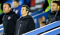 Fleetwood Town manager Joey Barton watches on<br /> <br /> Photographer Alex Dodd/CameraSport<br /> <br /> The EFL Checkatrade Trophy Group B - Bury v Fleetwood Town - Tuesday 13th November 2018 - Gigg Lane - Bury<br />  <br /> World Copyright &copy; 2018 CameraSport. All rights reserved. 43 Linden Ave. Countesthorpe. Leicester. England. LE8 5PG - Tel: +44 (0) 116 277 4147 - admin@camerasport.com - www.camerasport.com