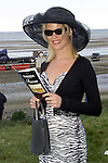 Tracey Boyle from Mornington enjoying the sunshine at the Laytown races on Tuesday..picture Paul Mohan Newsfile