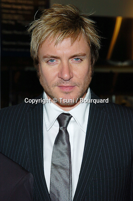 Simon LeBon (Duran Duran) arriving at the A Love Song For Bobby Long Los Angeles Premiere at the Arclight Theatre in Los Angeles. October 17, 2004.