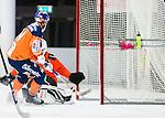 V&auml;ster&aring;s 2014-12-21 Bandy Elitserien Tillberga Bandy - Bolln&auml;s GIF :  <br /> Bolln&auml;s Samuli Koivuniemi g&ouml;r 3-2 bakom Tillbergas m&aring;lvakt Rasmus Eriksson under matchen mellan Tillberga Bandy och Bolln&auml;s GIF <br /> (Foto: Kenta J&ouml;nsson) Nyckelord:  Bandy Elitserien ABB Arena Syd Tillberga TB V&auml;ster&aring;s Bolln&auml;s GIF Giffarna jubel gl&auml;dje lycka glad happy jubel gl&auml;dje lycka glad happy
