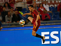 Alessandro Fiorenzi  during the  italian serie a soccer match, AS Roma -  SSC Napoli       at  the Stadio Olimpico in Rome  Italy , 14 ottobre 2017