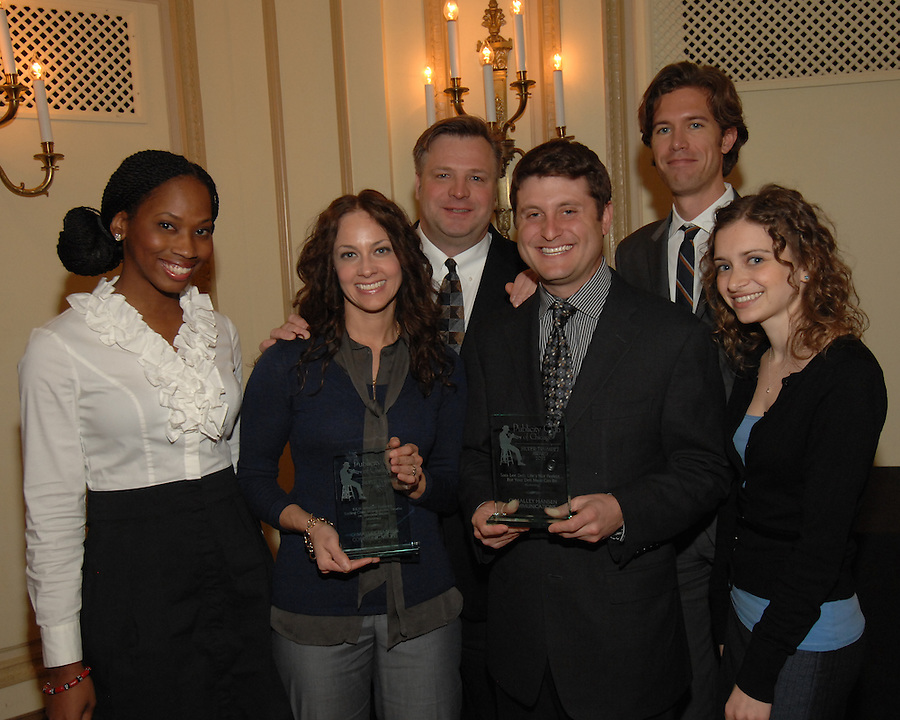 The Publicity Club of Chicago recognized the region's best strategic communications work done in 2011 at the Golden Trumpet Awards dinner at the Palmer House in downtown Chicago in Spring 2012. As always, all had a good time and were inspired. Excellent work receive Silver Trumpets. Very excellent work receive Golden Trumpets.  [Photo by The Kring Group (formerly Kring Lerner Group)]