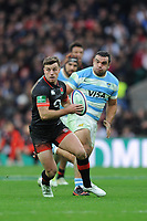 George Ford of England during the Old Mutual Wealth Series match between England and Argentina at Twickenham Stadium on Saturday 11th November 2017 (Photo by Rob Munro/Stewart Communications)