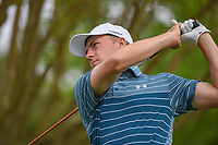 Jordan Spieth (USA) hits a provisional tee shot on 3 during day 2 of the WGC Dell Match Play, at the Austin Country Club, Austin, Texas, USA. 3/28/2019.<br /> Picture: Golffile | Ken Murray<br /> <br /> <br /> All photo usage must carry mandatory copyright credit (© Golffile | Ken Murray)