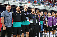 Germany coach Stefan Kuntz  sing national anthem<br /> Trieste 20-06-2019 Stadio Nereo Rocco <br /> Football UEFA Under 21 Championship Italy 2019<br /> Group Stage - Final Tournament Group B<br /> Germany - Serbia <br /> Photo Cesare Purini / Insidefoto