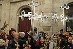 Israel, Jerusalem Old City, Easter, Good Friday at the Via Dolorosa