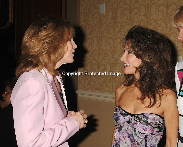 Donna Hanover, honoree Susan Lucci ..at The NYU School of Nursing's 75th Anniversary Celebration honoring Susan Lucci and Rachel Robinson..on May 10, 2007 at The Grand Hyatt Hotel in New York City. ..Robin Platzer, Twin Images........212-935-0770